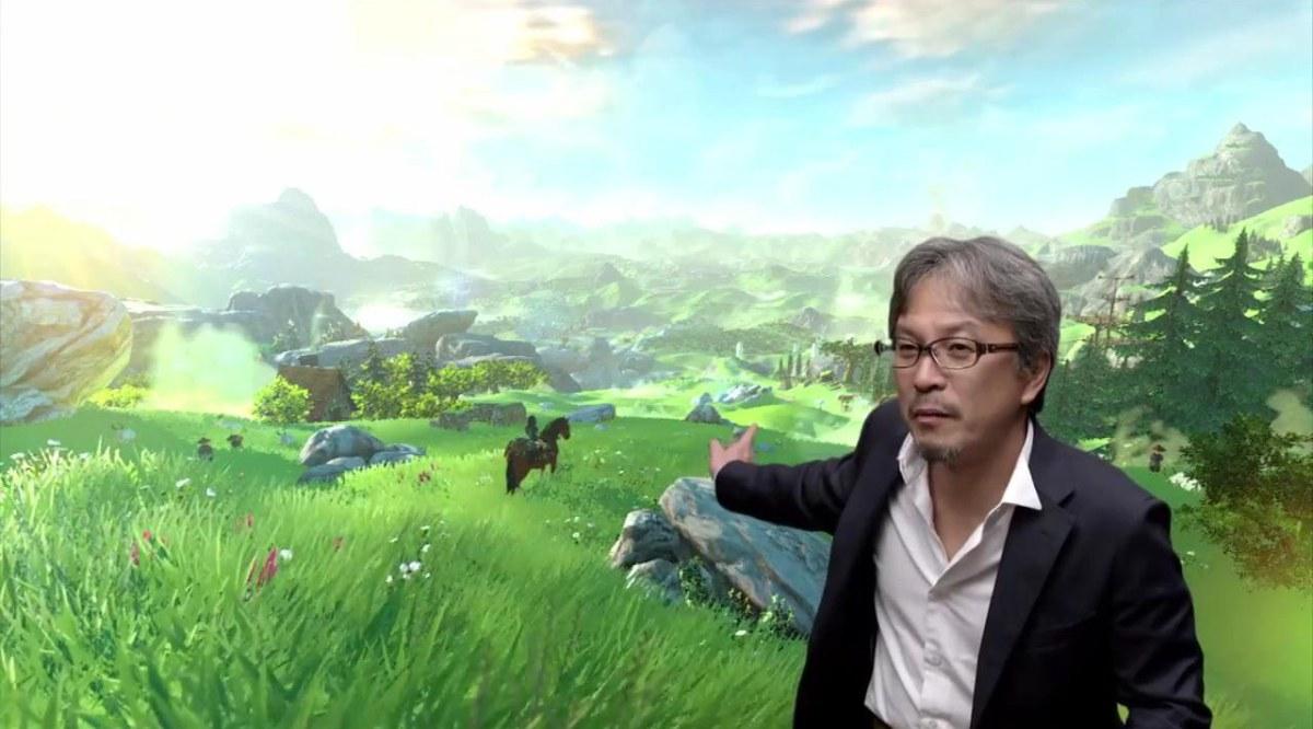 Aonuma conta sobre desenvolvimento de Breath of the Wild