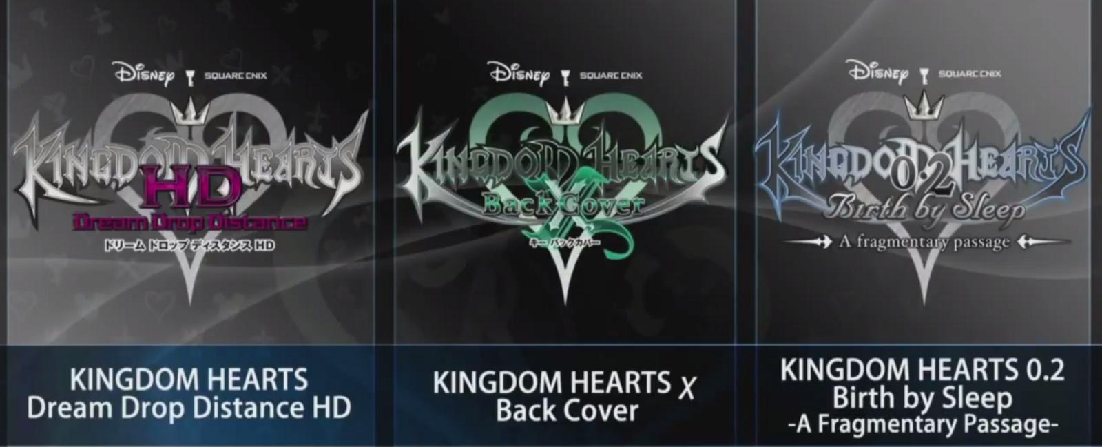 Novas informações de Kingdom Hearts II.8