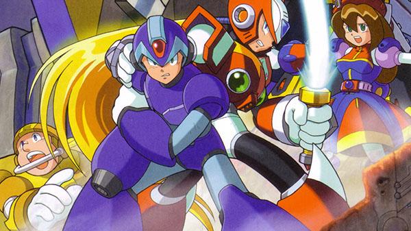 Megaman X Collection 1 e 2 listados