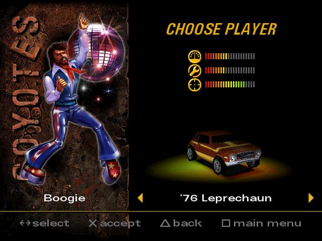 Boogie characters