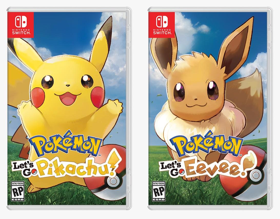 pokemon lets go pikachu eevee reveal 1