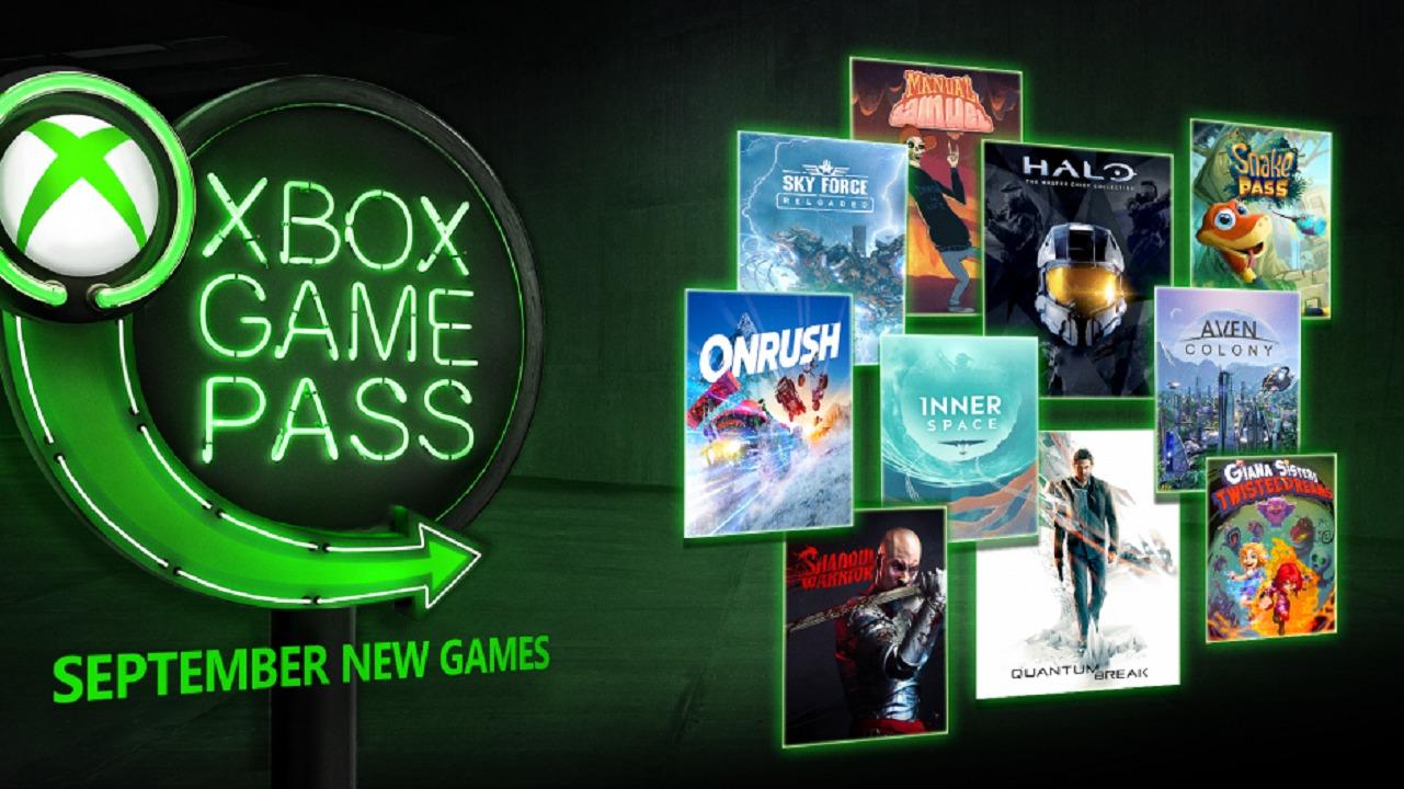 xbox game pass setembro 2018