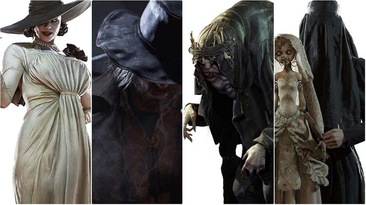 Resident Evil Village Introduces 4 Main Antagonists