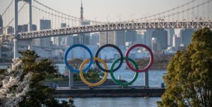 the tokyo 2020 olympic rings are displayed on march 25 2020 news photo 1616678075